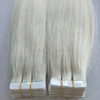 Grey White #90 Russian Virgin Human Hair