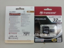 Transcend Micro SD Class 10 with adaptor 32G