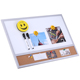 40*60 Sizes Wholesale Dry Erase Magnetic White Notice Memo Bulletin Cork Board With Wooend Frame