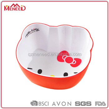made in china unbreakable safe baby cartoon melamine bowl