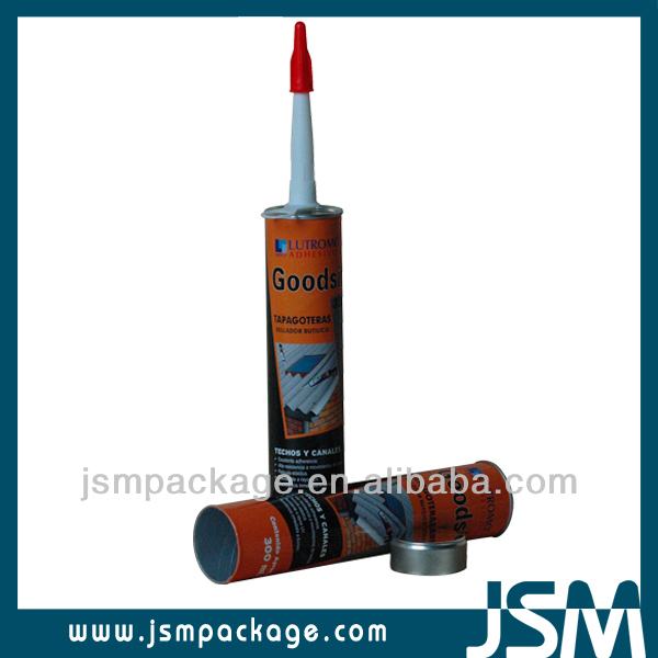 JSMPACKAGING Paper composite can Paper Adhesive Cartridge construction glue wholesale