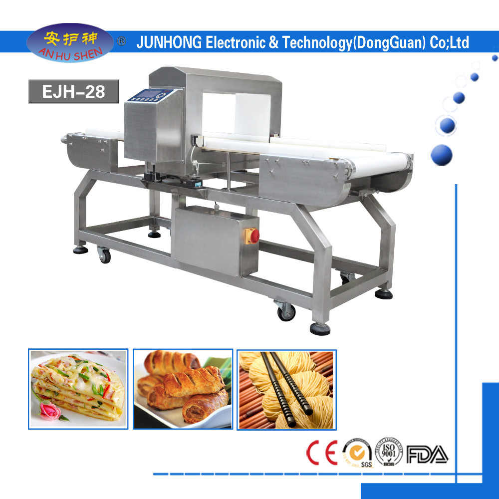 food industry equipment conveyor belt metal detector