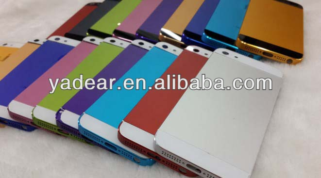 Cheap and fine for iphone 5s color back housing