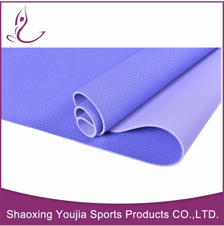 China manufacture waterproof light weight tpe exercise mattpe exercise mat