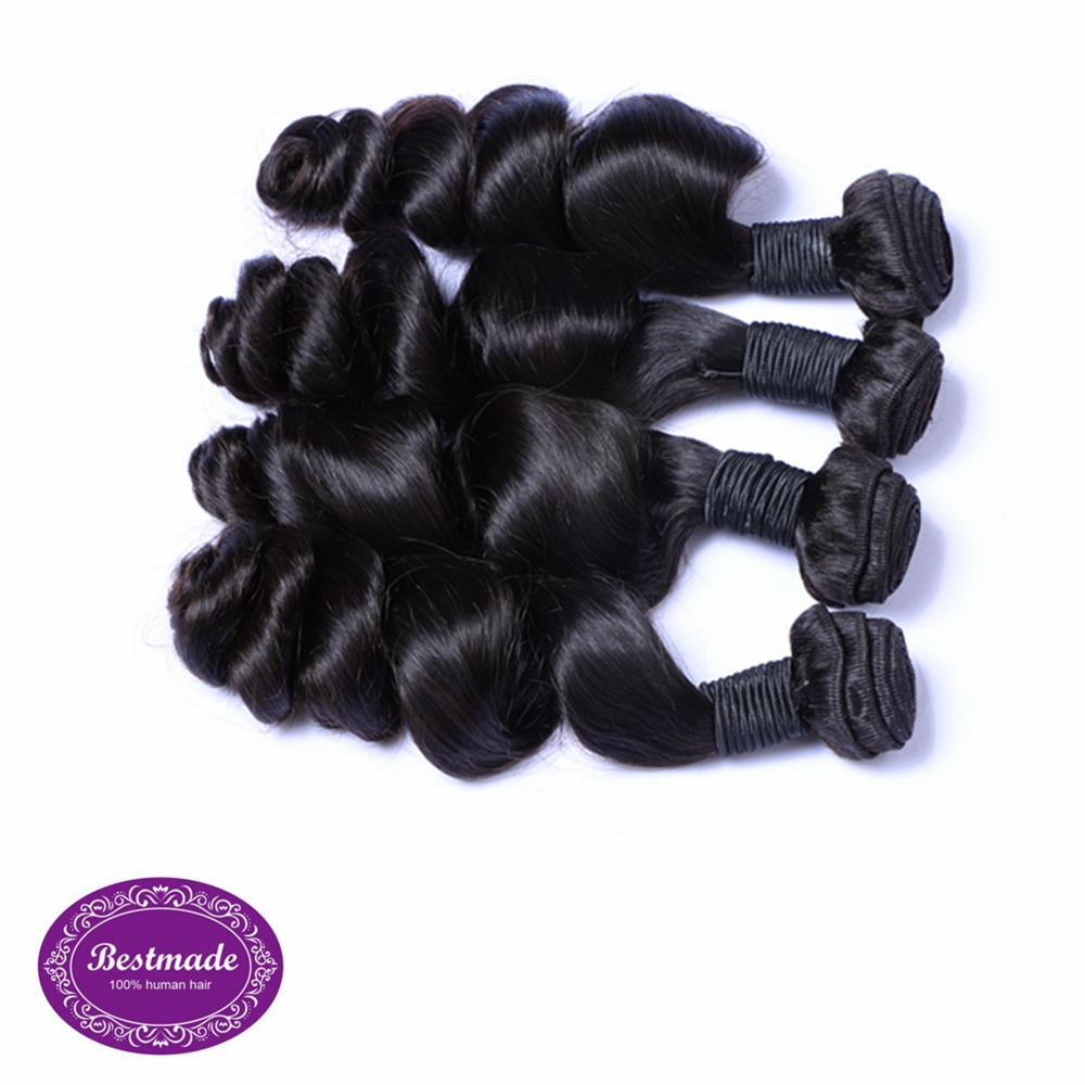 Peruvian Loose Wave Hair Extenion Remy Hair