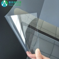 Plastic rigid thin flexible plastic PET sheet