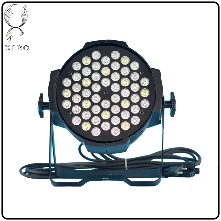 factory direct aluminum full power 54 3w led rgbw par indoor rgbw nowaterproof par light