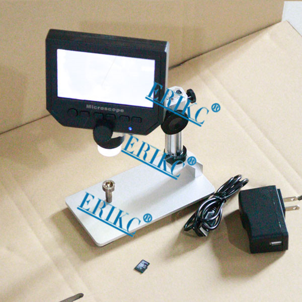 Digital Industrial Stereo Microscope with camera screen \ LCD Microscope cyclic record automatic shutdown