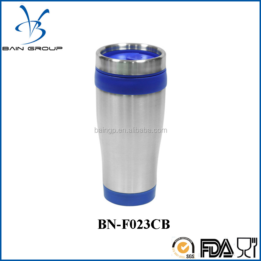 Insulated Porcelain Stainless Steel Plastic Travel Mug