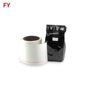 Hot selling resealable label high quality reusable adhesive label