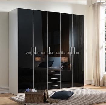 Modern Style Modular Homes Furniture Wooden Almirah Designs Bed Room ...