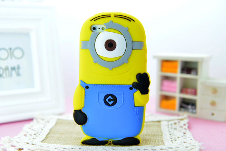 Minion Camera Case : Buy despicable me 3d silicon minion case cover carton case for
