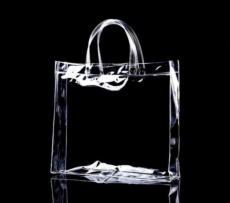 Wholesale Custom Pvc Bag Clear Plastic Pvc Vinyl Bag With