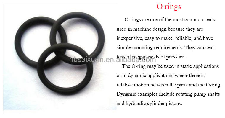 Hydraulic Cylinder O-ring/ Shaft O Ring /excavator Rubber O Ring ...