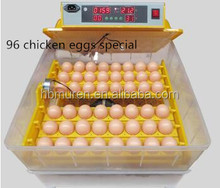 full Automatic 96 chicken eggs mini egg incubator