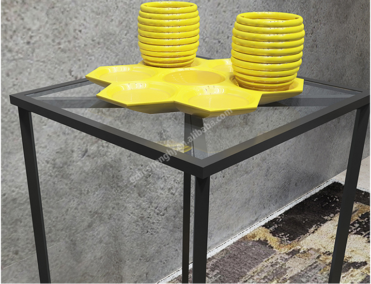 Display table .clothing store fixtures. industrial style HA01L15