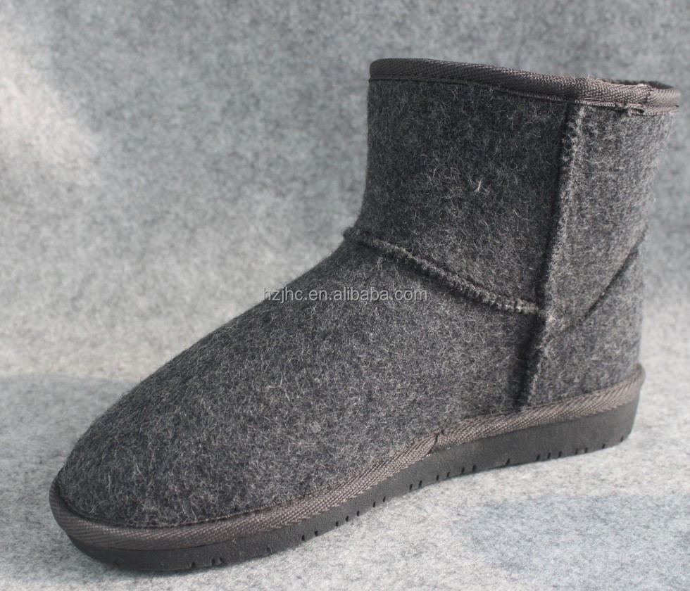 Needle Punched nepal felt shoes with cheap price