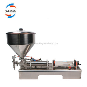 table stand filling machine for jam, sauce, balm, paste, cheeze, butter, grease