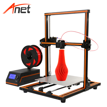 New Arrival Anet E12 3D Printer LCD Screen DIY 3D Printer Machine For ABS PLA Printing 1.75mm