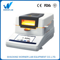 WORNER lab moisture meter touch display moisture analyzer