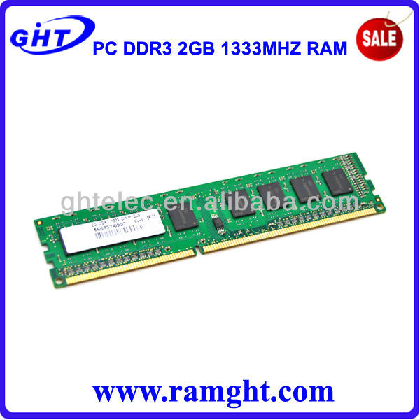 West Union middle east ram memory ddr3 2gb 1333