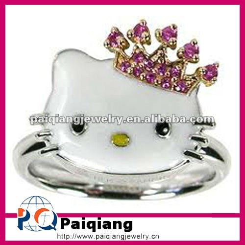 hot selling hello kitty wedding rings buy hello kitty ringshello kitty engagement ringhello kitty wedding rings product on alibabacom