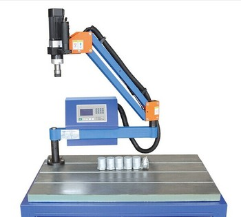 M3-M16 Automatic Electric Thread Tapping Drilling Machine ISO Nut and Screw Tapping Threading Machine