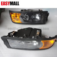 SHACMAN F2000 Dump truck spare parts body cabin parts headlight DZ9100726020/30