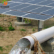New product underground solar pumping systems 75hp 150000 liters/hour solar water pump