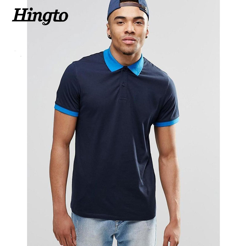Custom merk designer polo t shirts klassieke ontwerp met Customized polo t shirts