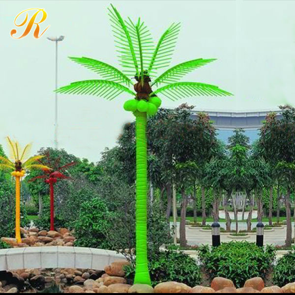 2015 Best selling coconut tree brand plaza ornament