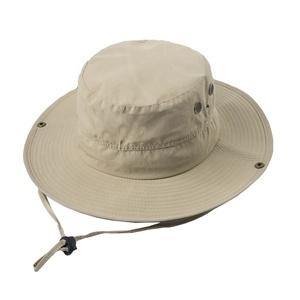 da63363ac Men and women embroidery bucket hat custom hat wash cotton sun hats plain  outdoor fishing hunting safari boonie cap