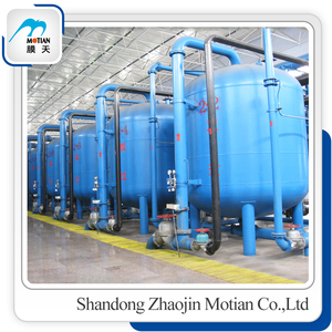 Industrial automatic activated carbon water filter /water treatment plant