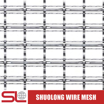 Shuolong Mesh Rigid Series XY-3821 Stainless Steel Architectural Wire Mesh