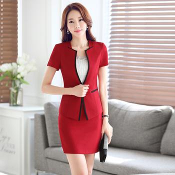 761668261 Oficina de las mujeres traje formal elegante chaqueta blazer chaqueta y  pantalón para ropa de trabajo