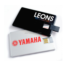 2017 hot selling Promotional Credit Card Shape USB Business Card Flash Drive 4GB 8GB 16GB