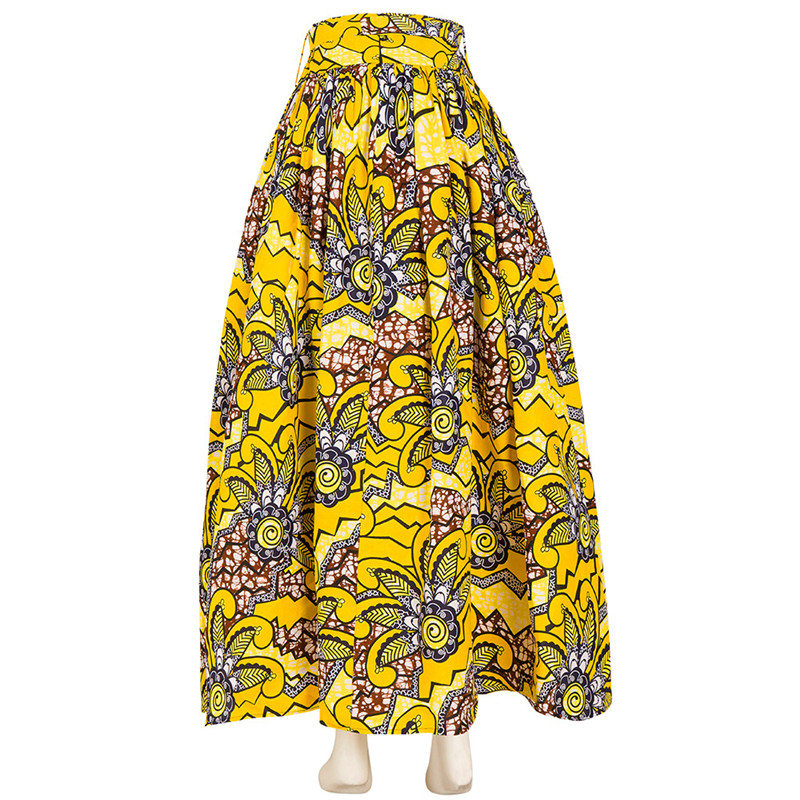 Wholesale High Quality African Clothing Patterns Dresses African Wax Classy African Skirts Patterns