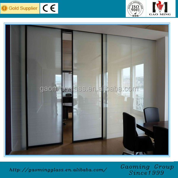 Gao Ming magic glasses for windows, doors, glass partition, shower enclosure or divider, skylight