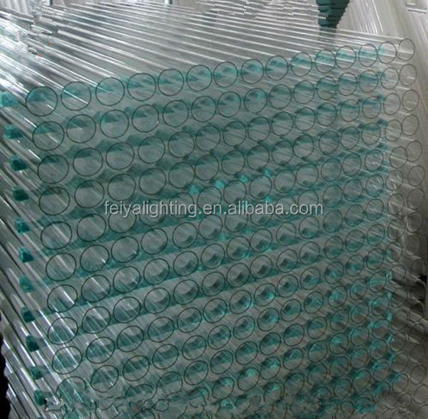 High Temperature resistance Borosilicate Pyrex glass tube