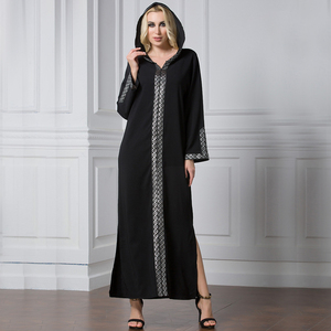 250ff3df251 Zakiyyah 9062 Ready Made Abaya Oversized Muslim Kimono Punjabi Blouse  Vintage Design Arabic Burka