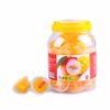 Delicious mango mini fruit jelly cup