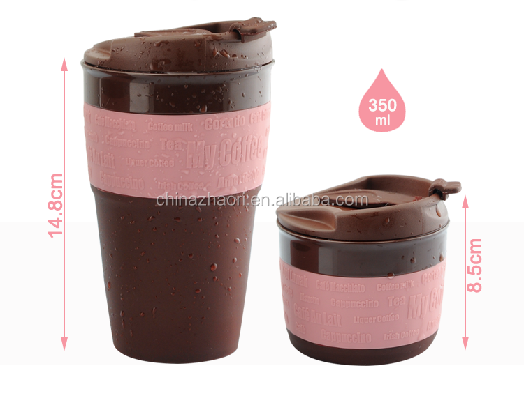 2016 Wholesale Collapsible Silicone Travel Coffee Mug