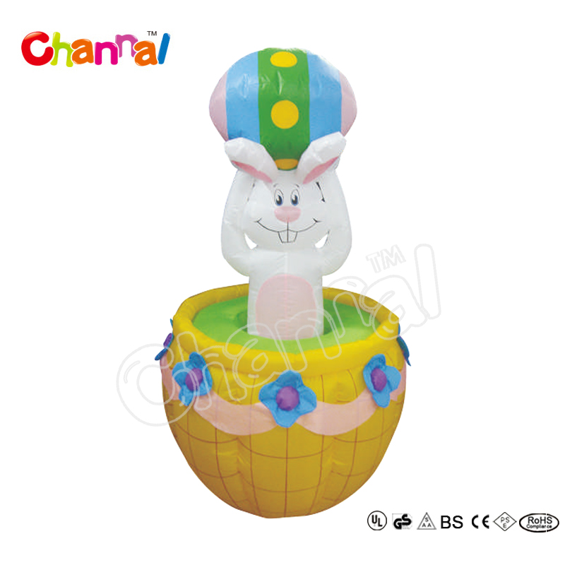 2017 New Design Easter Yard Inflatables Life Size Easter Bunny Drill Up U0026  Down On Easter Egg   Buy Easter Yard Inflatables,Easter Egg,Life Size Easter  Bunny ...