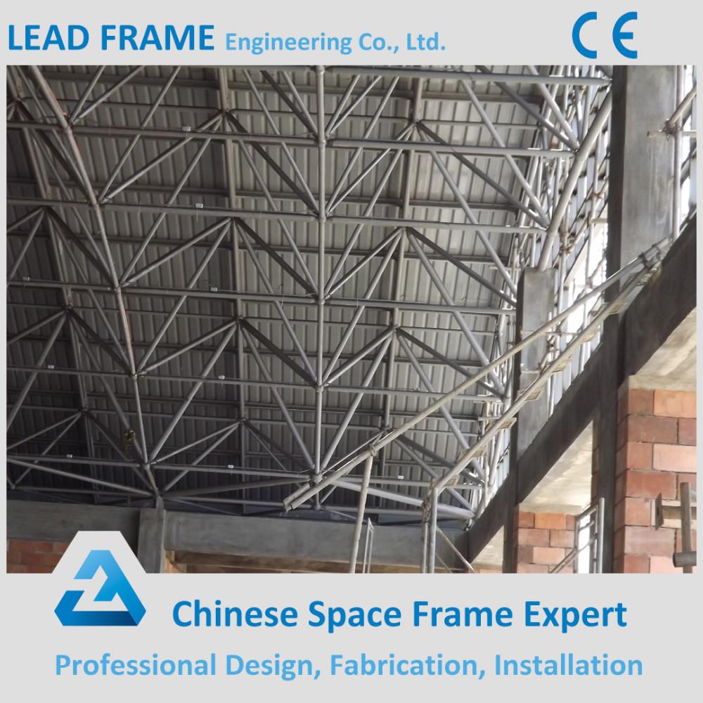 Prefabricado estructura espacial cubierta piscina techo estructuras de acero identificaci n del - Techo piscina cubierta ...
