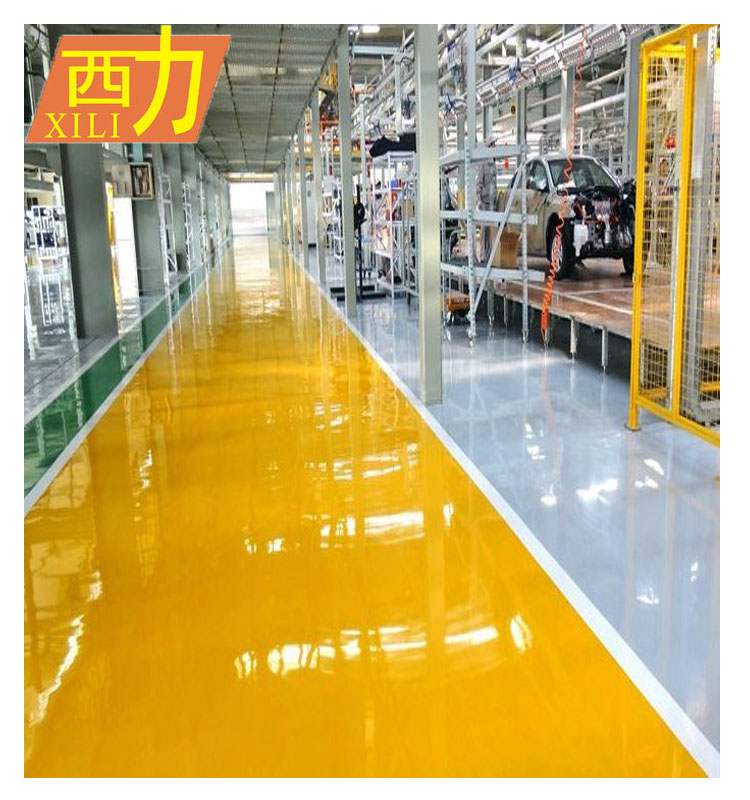 Two Component Floor Paint for Car Park Decoration
