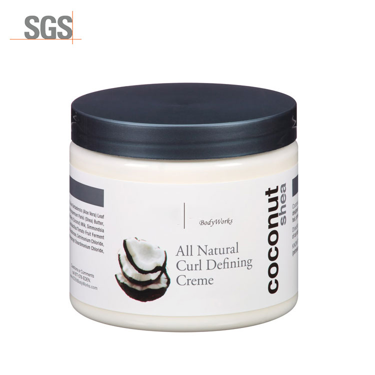 Wholesale private label moisturizer hair styling cream hair treatment curl  hair cream