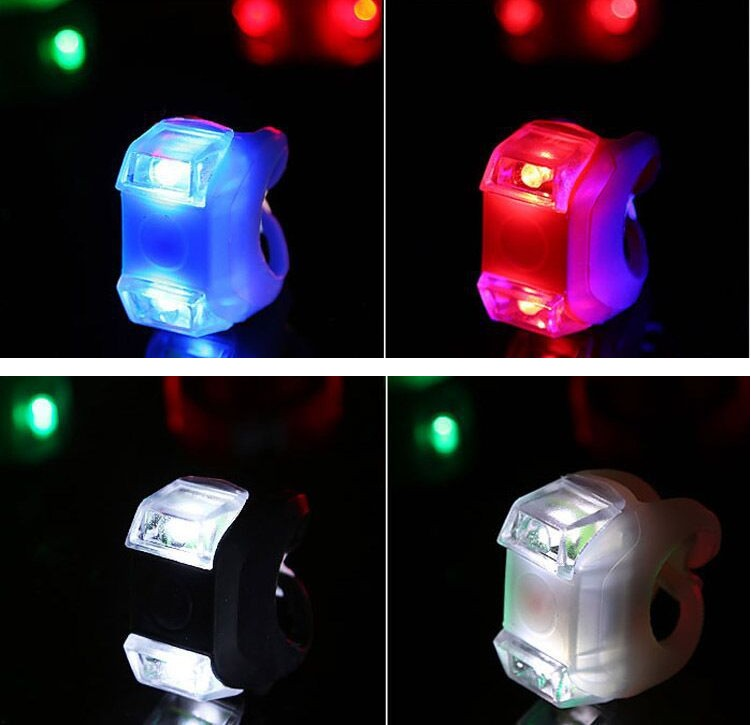 Oempromo wholesale 2 LED bicycle lamp light