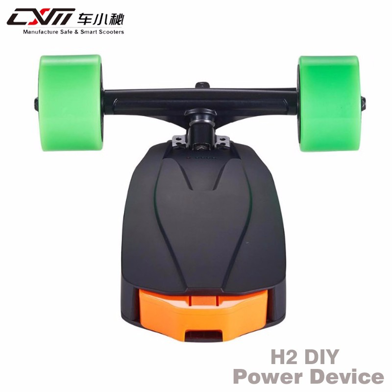 Factory price electric skateboard kit dual hub motor DIY with remote contrller