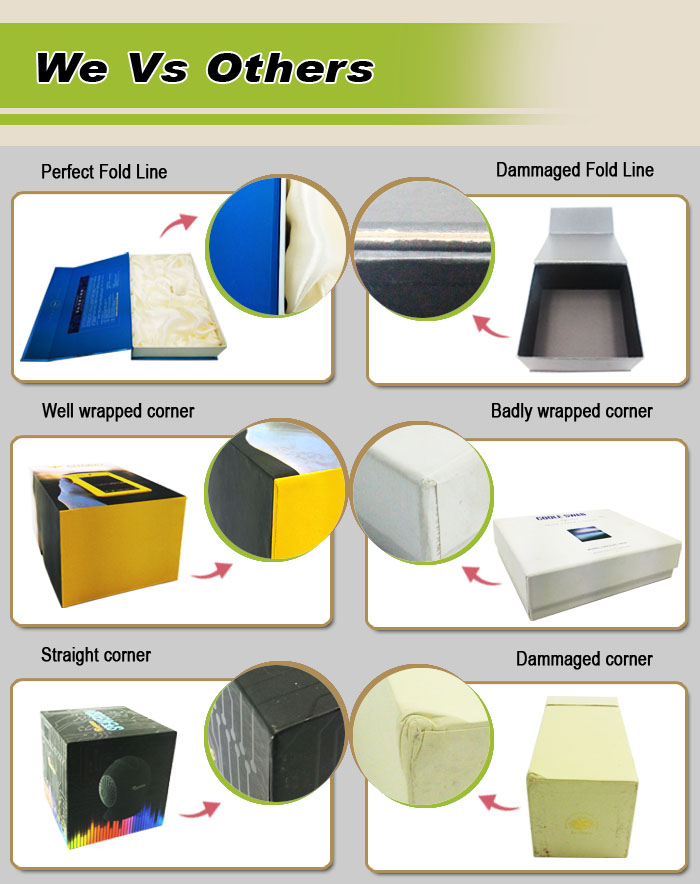 Customized Printed Wig Top And Base Packaging Box Hair Packaging Box