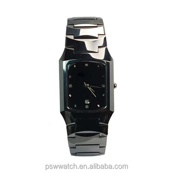 Tungsteno Negro Noble Hecho En Metal Reloj parejas Zafiro China reloj De Buy Tungsteno Square Parejas Reloj Valioso XwOn0k8P